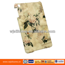 Rubber oil coating water transfer PC case for ipad mini