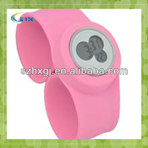 G-2015 promotional odm watches free samples silicone watch