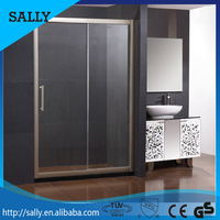 Safety Tempered Glass Bath Room Portable Shower Screen Door