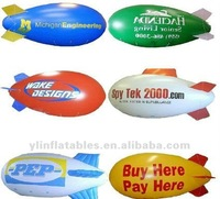 2016 hot selling inflatable helium blimp//advertising blimp