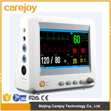 CE mark Hospital Handheld Mini 7 inch 6 parameter Patient Monitor RPM-9000F Capnography optional printer