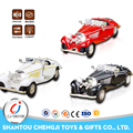 1:28 Scale alloy light music emulation car model metal