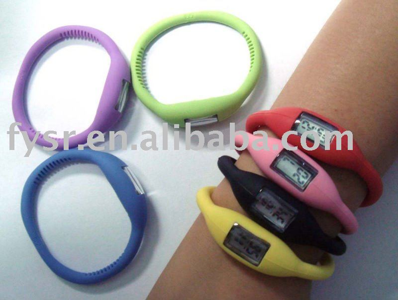 2011 health silicone ion watch