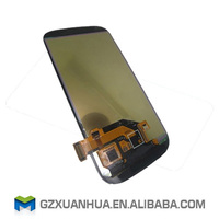 Low price spare parts for samsung galaxy s3 lcd screen i9300 i9305 i747 i535 digitizer with frame assembly