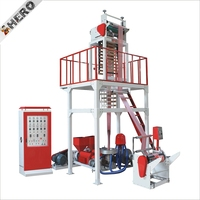Rewinding Blowing Extruder Plastic Making Blown Packaging Printing Package Pe Air Bubble Film Extrusion Machine