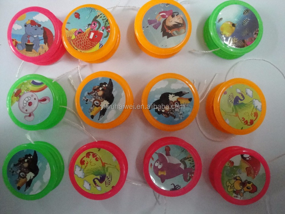 colours plastic yoyo toys gifts toys for kids