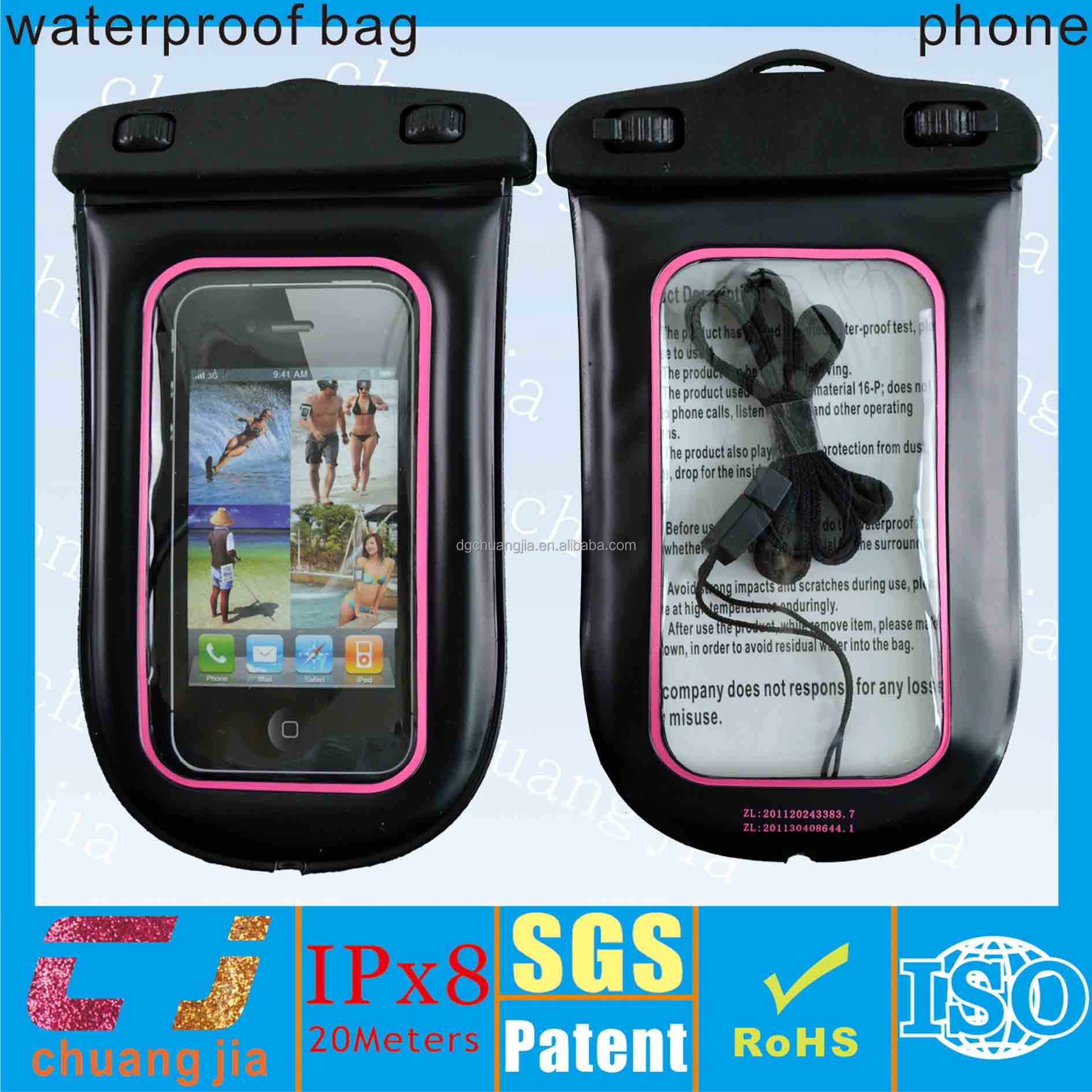 Hot cell phone waterproof case for htc evo 4g