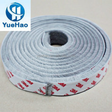 Supply Silicone Backed Brush Strip With 3M Adhesive Tape