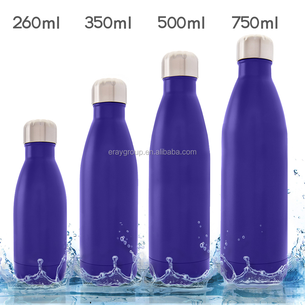 750 ml /25 oz copper technology double wall vacuum insulated 18 8 stainless steel swell bottle