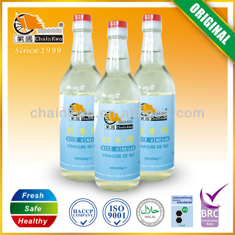 Natural fermented White Vinegar 500ml