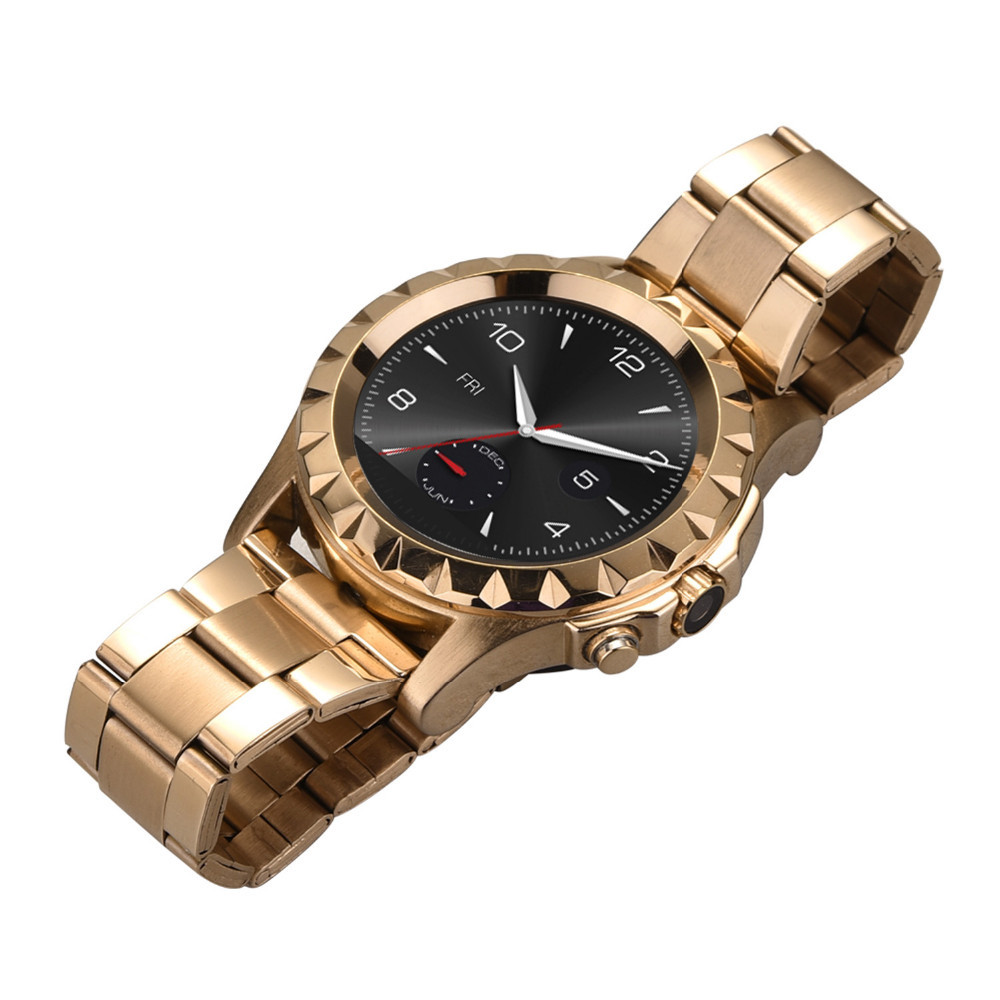 New gold chain design for men's watches stainless steel jewelry andriod smart watch phones