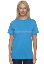 Wholesale cotton blank ladies tee shirt,top quality cotton t-shirt in Ningbo