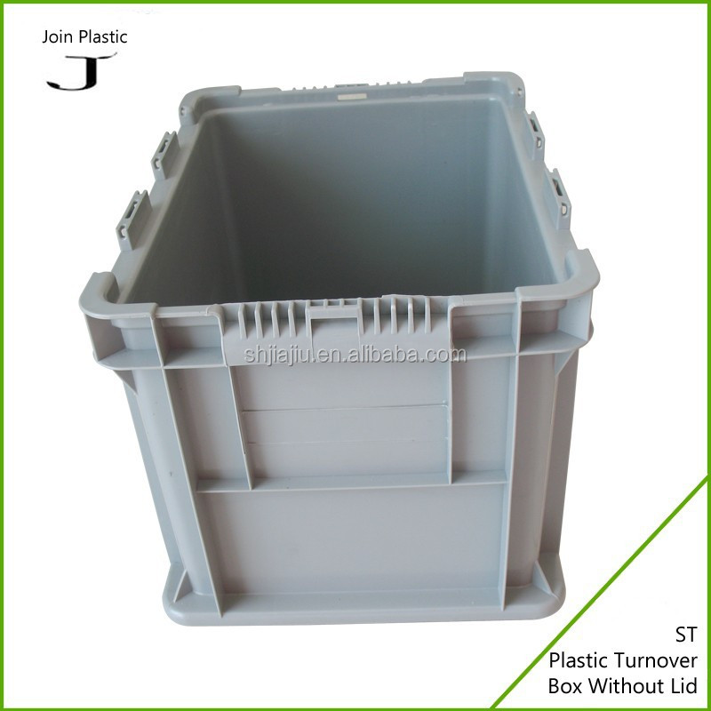 ST series plastic boxes Solid plastic crate for packing and storage