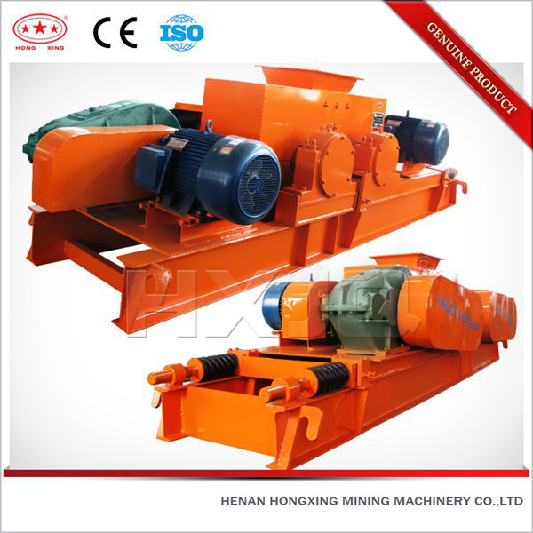 Double smooth cement roll crusher equipment