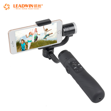 Leadwin Hot Sale Aluminum V-3 Dslr Camera Handheld Portable Gimbal Smartphone Stabilizer Suitable For 3.5 To 6.1