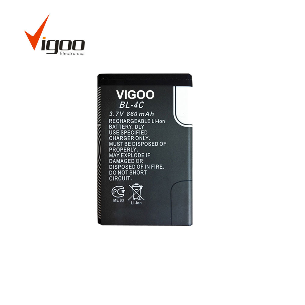China Manufacturer Cell phone Battery for Nokia BL-4C 3.7v mobile Phone Battery