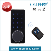 Home automation digital keypad door lock with low voltage alarm