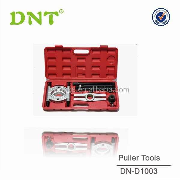 Professional 8pcs car repair tool of bearing separator tools in Red BMC for automotive repair