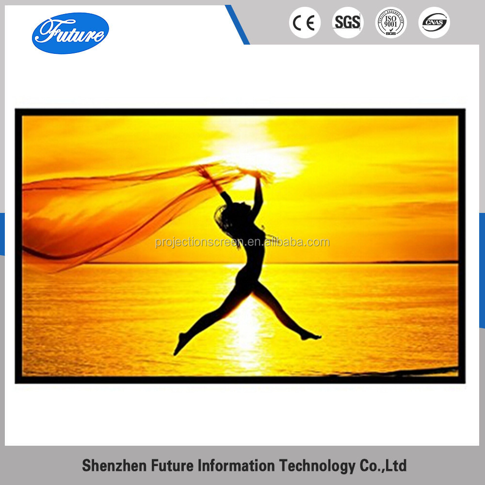 FUTRUE 150 inch 16:9 Outdoor Movie Projector Screen for HD Cinema