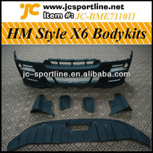 FRP X6 Bodykit,Body Kit For BMW HM Style