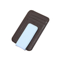 Magnet PU Leather Money clip with credit card holder
