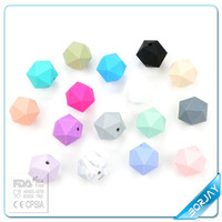 Hot Sale and Health Loose Silicone Beads for Teething Jewelry