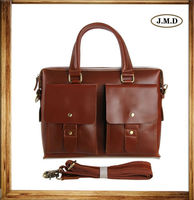 7001X Stylish Genuine Leather Briefcase Man Hard Leather Handbag