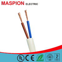 Maspion different types of cables and wires CCA 2 core flexible wire