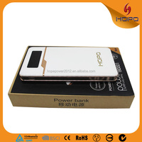sweet 3 USB output charger solove power bank 8000mAh