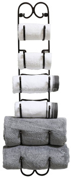 Amazon best selling items Vintage towel and wine Metal storage Rack