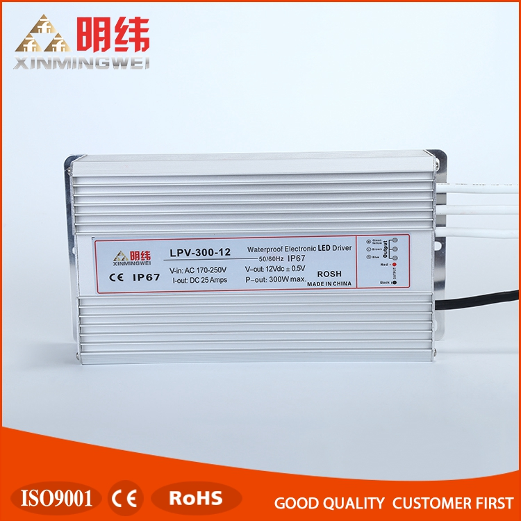 Wholesale high power waterproof led driver power supply LPV-300-12
