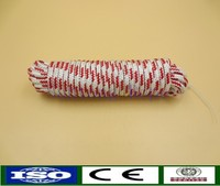 High quality diamond 8mm 16-strand pp yachts rope
