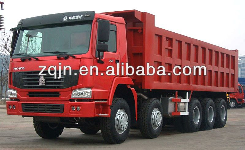 HOWO Large Dump Truck China Automobile Van WD615.95