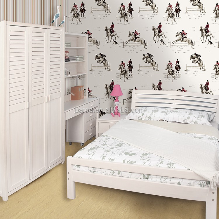 Papier peint pour chambre bb decoration pour chambre de - Papier peint chevaux pour chambre ...