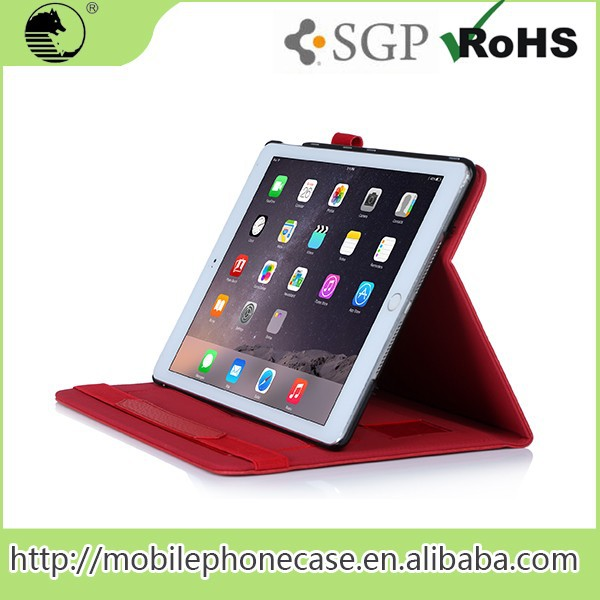 Multi-Function New Products Luxury wallet tablet case FOR IPAD AIR 2