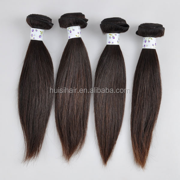 Alibaba stock three head machine made aliexpress hair dubai hot selling nature color 14inch hair weft