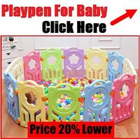 Buy cubby plan childrenkids with-door 8 panel play yard large ...