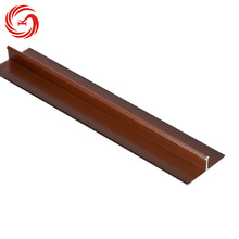 Wood grain floor threshold aluminium transition door strips
