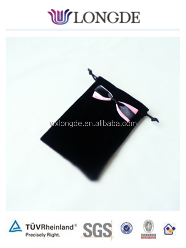 gift drawstring bag with bow
