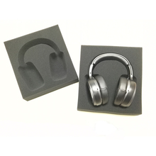 Manufacturing Custom Black Polyurethane Headphone Packaging Foam