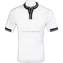 plain white t shirts,casual banded collar shirts for men,china garment factory
