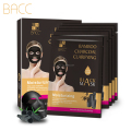 Mask Form and bamboo charcoal Main Ingredient Deeply Cleansing bamboo charcoal facial mask