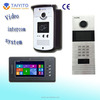 IP wire villa video intercom system for a house