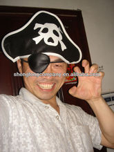promotional party Pirate Hat we can add your logo on the hat and eye patch
