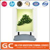 Get Your Own Designed New Coming Custom Printing Counter Top Metal Peg Display Rack