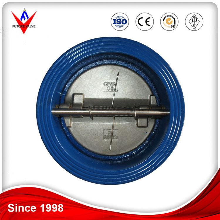 Factory manufacturing best price industrial iron wafer check valve