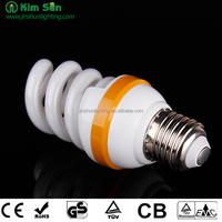 High quality half/full spiral 45W cfl with CE ROHS energy saving lamp factory