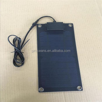 hot sale 5W Waterproof portable photovoltaic panel solar for camping