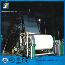Large capacity A4 paper making machine with high quality