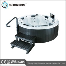 Sunrans Balboa Acrylic Outdoor Round Hot Tub SPA For 6 Person